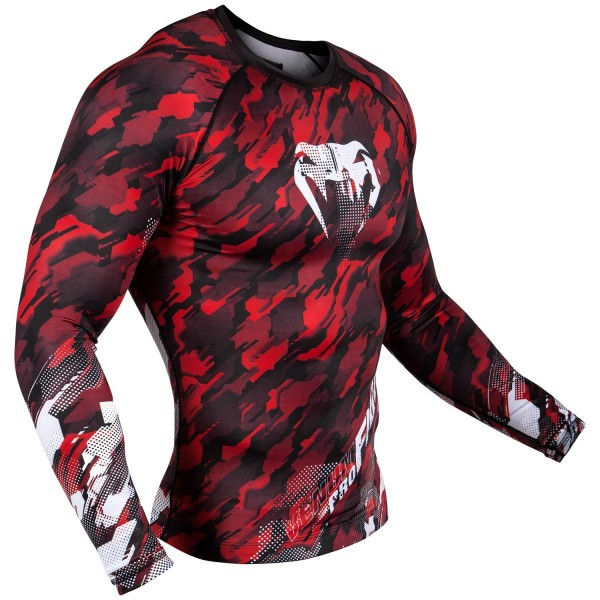 Рашгард Venum Tecmo Red L/S