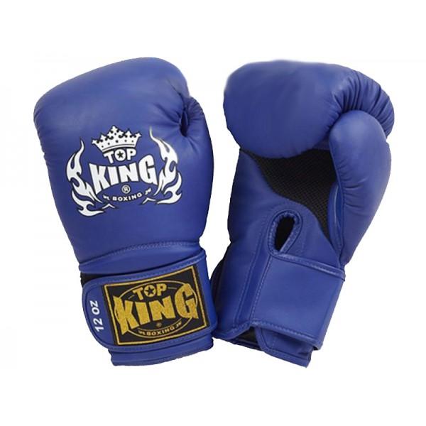 Перчатки боксерские Top King Super Air Blue
