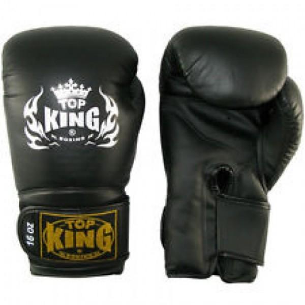 Перчатки боксерские Top King Super Black