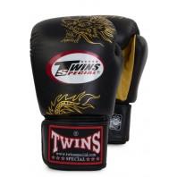 Перчатки боксерские Twins FBGV-6G-Black