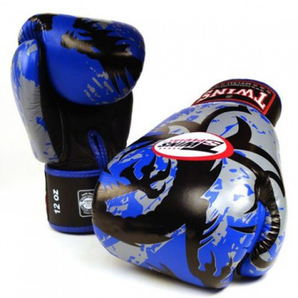 Перчатки боксерские Twins FBGV-36-Blue<br>Вес кг: 900.00000000;