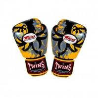 Перчатки боксерские Twins FBGV-36-Yellow