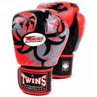 Перчатки боксерские Twins FBGV-36-Red