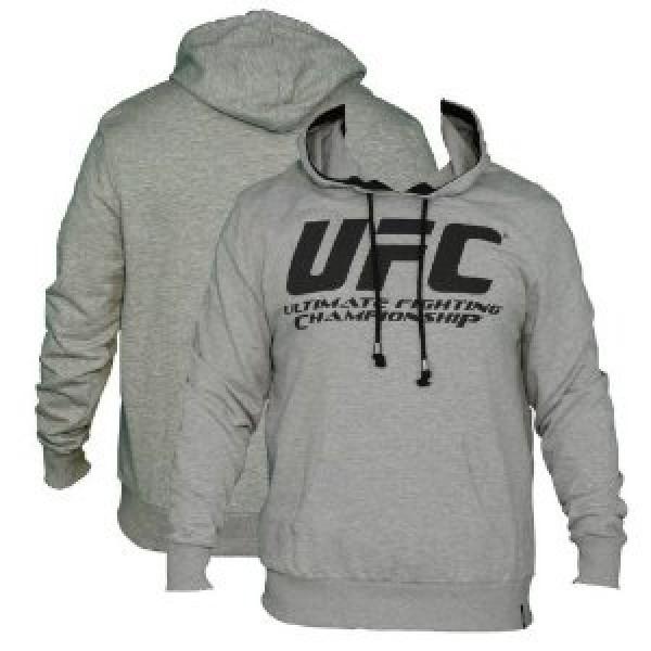 Толстовка UFC Great Hoodie - Grey