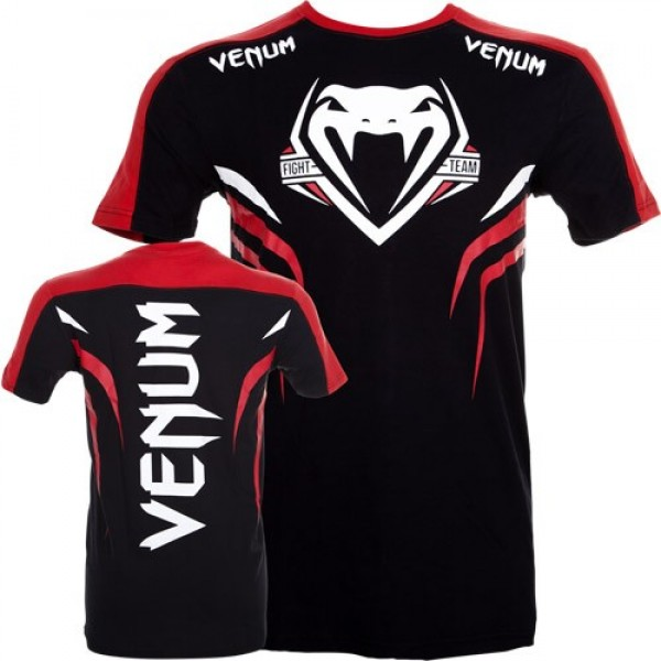 Футболка Venum Shockwave 2 T-shirt - Black/Red