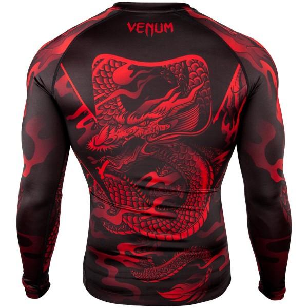 Рашгард Venum Dragon's Flight Black/Red L/S