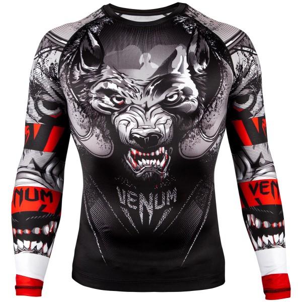 Рашгард Venum Werewolf Black/Grey L/S