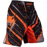 Шорты ММА Venum Pixel - Black/Grey/Orange
