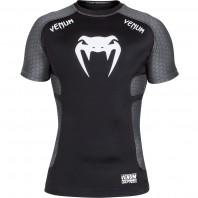 Рашгард Venum Absolute Compression T-Shirt - Dark Grey Short Sleeves
