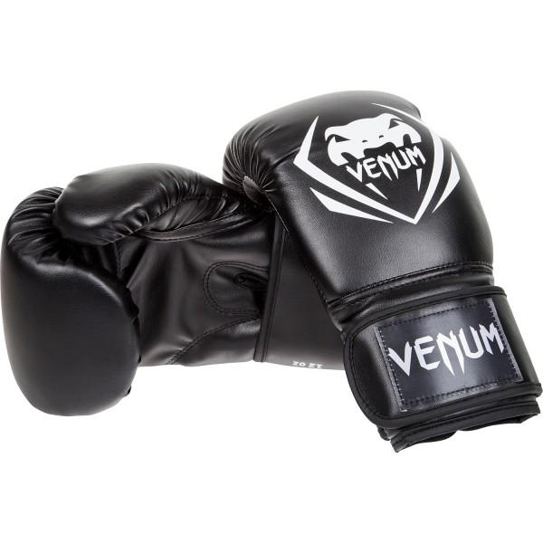 Перчатки боксерские Venum Contender - Black