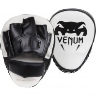 Лапы Venum Light Black/White (пара)