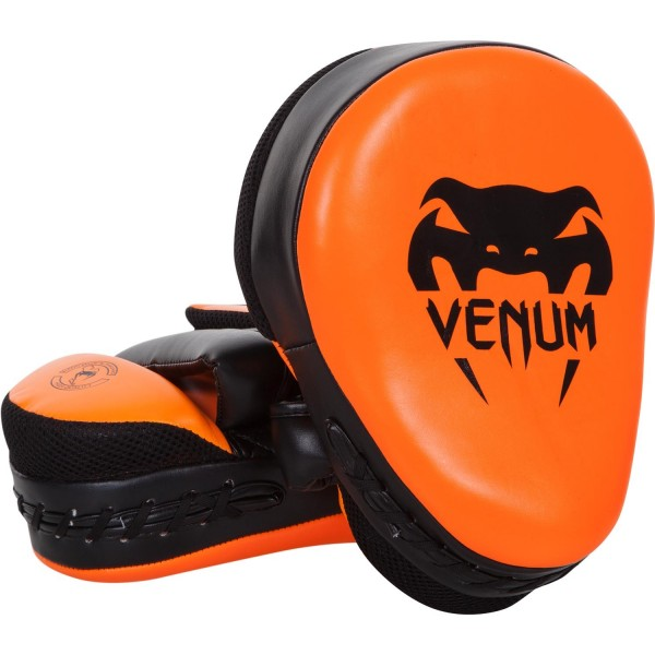 Лапы Venum Punch Mitts Cellular 2.0 Neo Orange (пара)