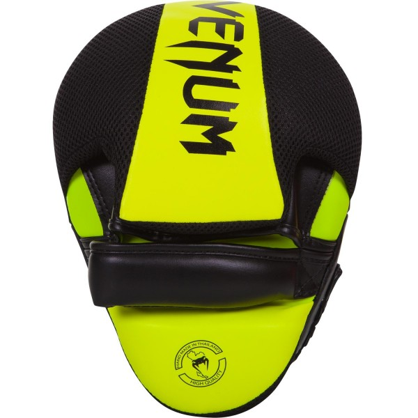Лапы Venum Punch Mitts Cellular 2.0 Neo Yellow (пара)