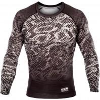 Компрессионная футболка Venum Tropical Black/Grey L/S