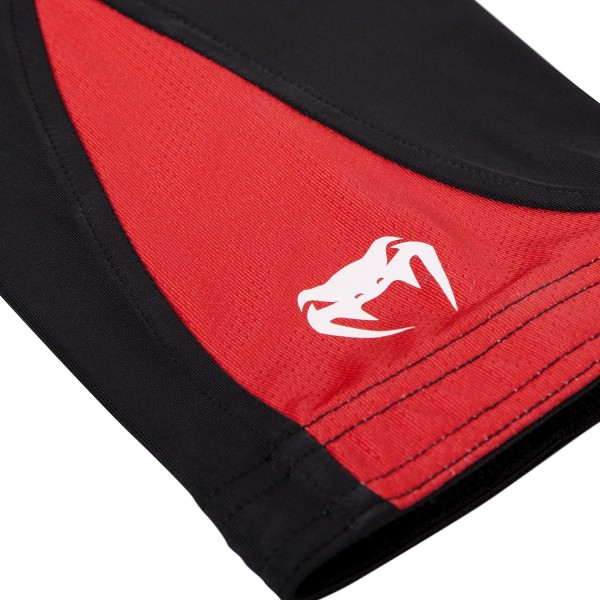 Компрессионные штаны Venum Challenger Spats - Black/Red