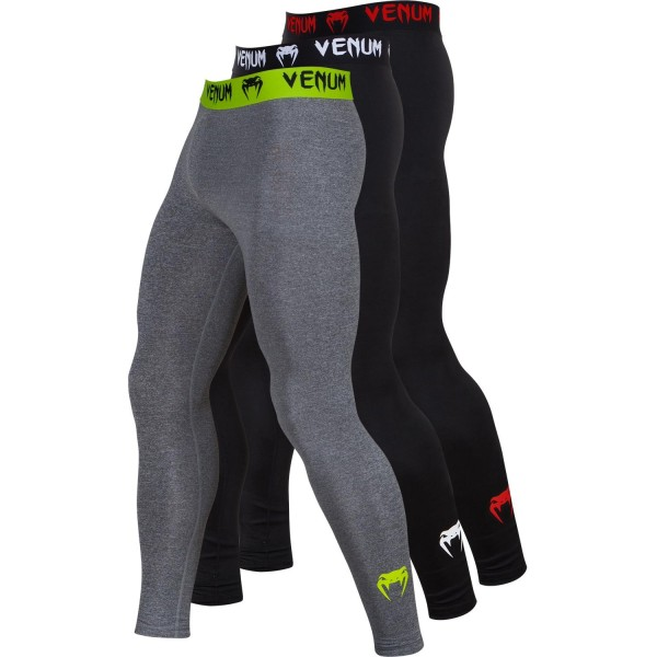 Компрессионные штаны Venum Contender 2.0 Compression Spats Black/Red