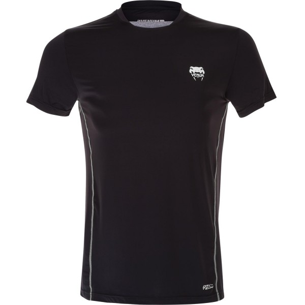 Футболка Venum Contender Dry Tech T-Shirt - Black/Ice