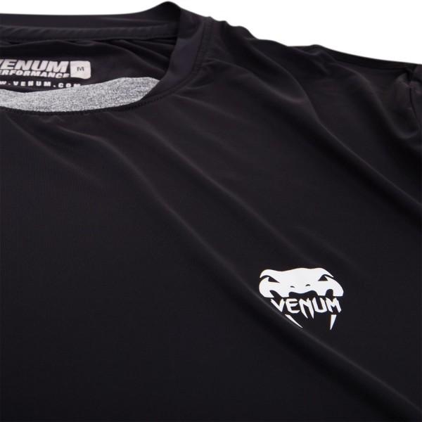 Футболка Venum Contender Dry Tech T-Shirt - Black/Ice