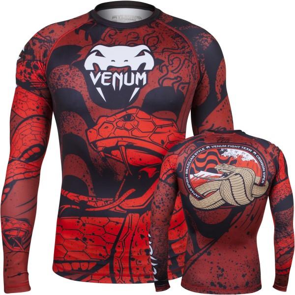 Рашгард Venum Absolute Crimson Viper L/S