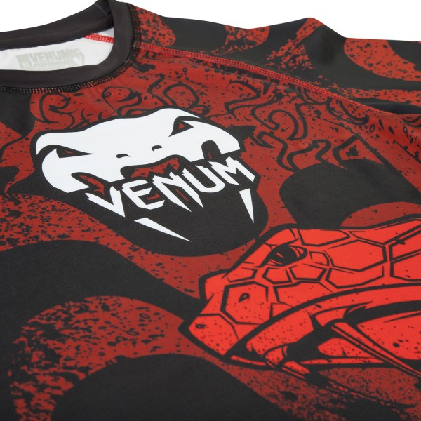 Рашгард Venum Absolute Crimson Viper Rashguard - Long Sleeves
