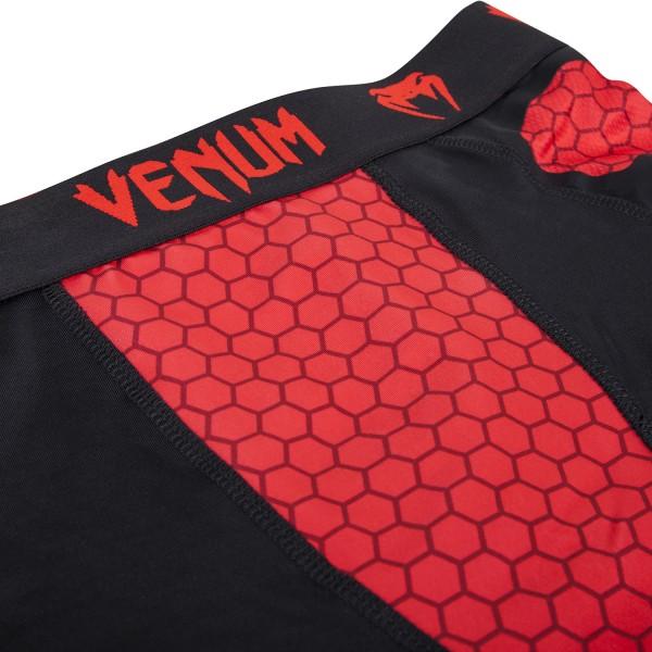 Компрессионные шорты Venum Absolute Compression Shorts - Black/Red