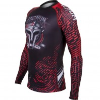 Рашгард Venum Gladiator Black/Red L/S