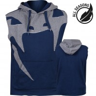 Толстовка без рукавов Venum Attack Lite Series All Seasons Navy Blue