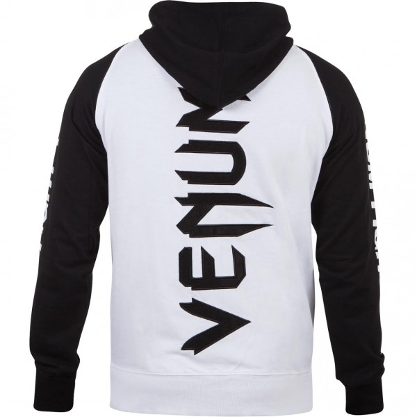 Толстовка Venum Pro Team 2.0 Hoody - Lite Series - All seasons White/Black