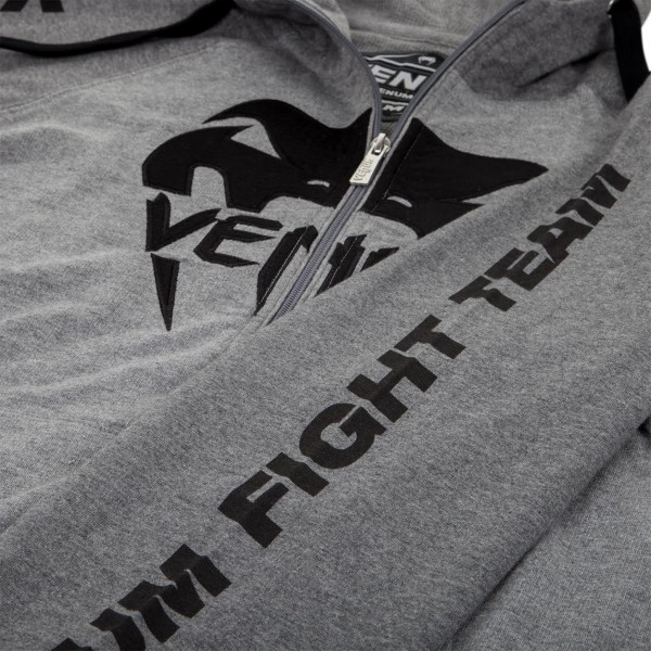 Толстовка Venum Pro Team 2.0 Hoody - Lite Series - All seasons Grey