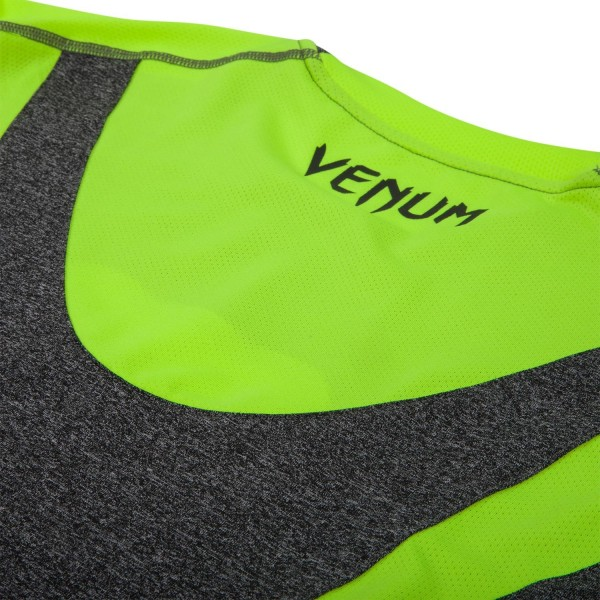 Футболка Venum Predator Dry Tech - Grey/Yellow