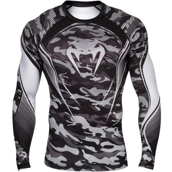 Компрессионная футболка Venum Camo Hero - Grey
