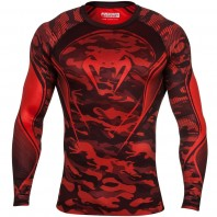 Рашгард Venum Camo Hero - Red