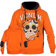 Толстовка Venum Santa Muerte Orange/Black