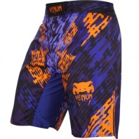 Шорты ММА Venum Neo Camo Blue/Orange/Black