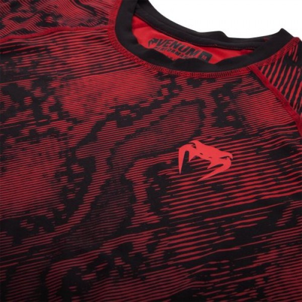 Рашгард Venum Fusion Black/Red S/S