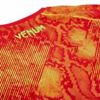 Рашгард Venum Fusion Orange/Yellow S/S