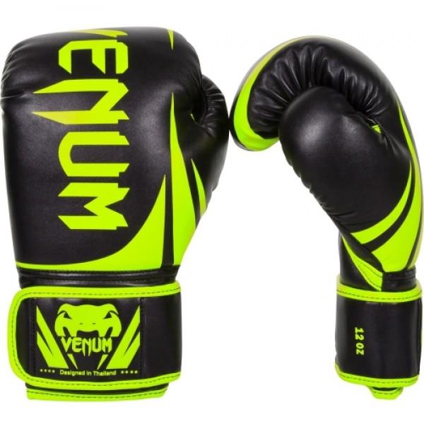 Перчатки боксерские Venum Challenger 2.0 Neo Yellow/Black