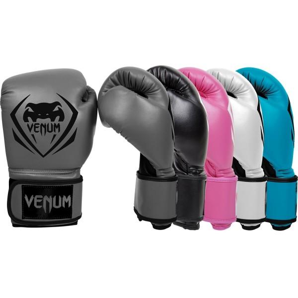 Перчатки боксерские Venum Contender - Grey