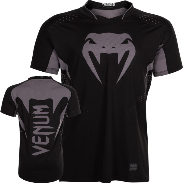 Футболка Venum Hurricane X-Fit Black/Matte