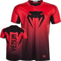 Футболка Venum Hurricane X-Fit Red/Black