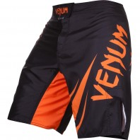 Шорты ММА Venum Challenger Black/Neo Orange