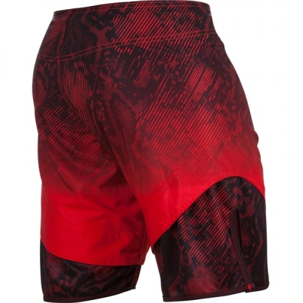 Шорты ММА Venum Fusion Fightshorts - Black Red