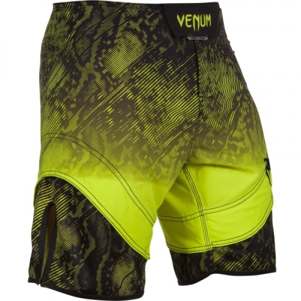 Шорты ММА Venum Fusion Fightshorts - Black Yellow