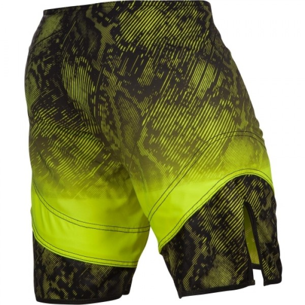 Шорты ММА Venum Fusion Black/Yellow