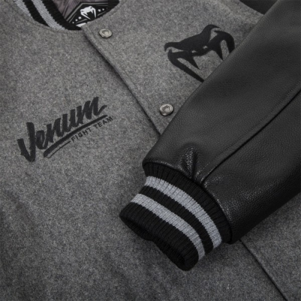 Куртка Venum Shockwave Varsity Jacket - Black/Grey