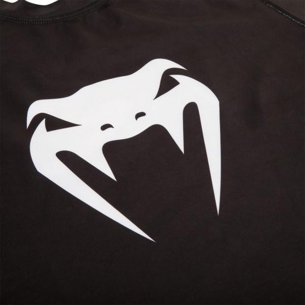 Рашгард Venum Challenger S/S Black/White