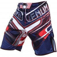 Шорты ММА Venum USA Hero Fight Shorts - Blue/Red/Ice