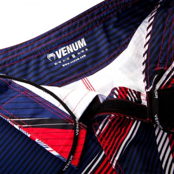 Шорты ММА Venum UK Hero Fight Short - Blue/Red/Ice