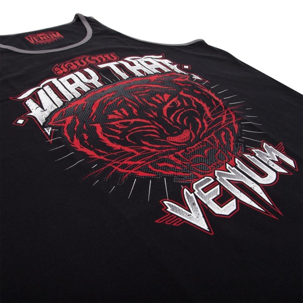 Майка Venum Tiger King Top Tank Black