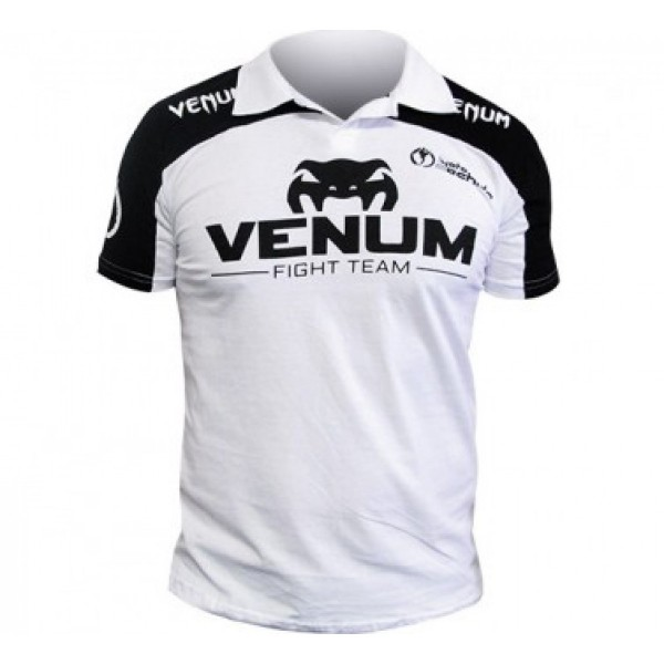 Поло Venum Lyoto Machida UFC Edition - Black/White